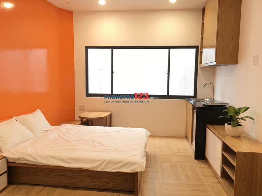 Căn hộ mini dịch vụ full nội thất bao phí ở Hoàng Hoa Thám, Bình Thạnh