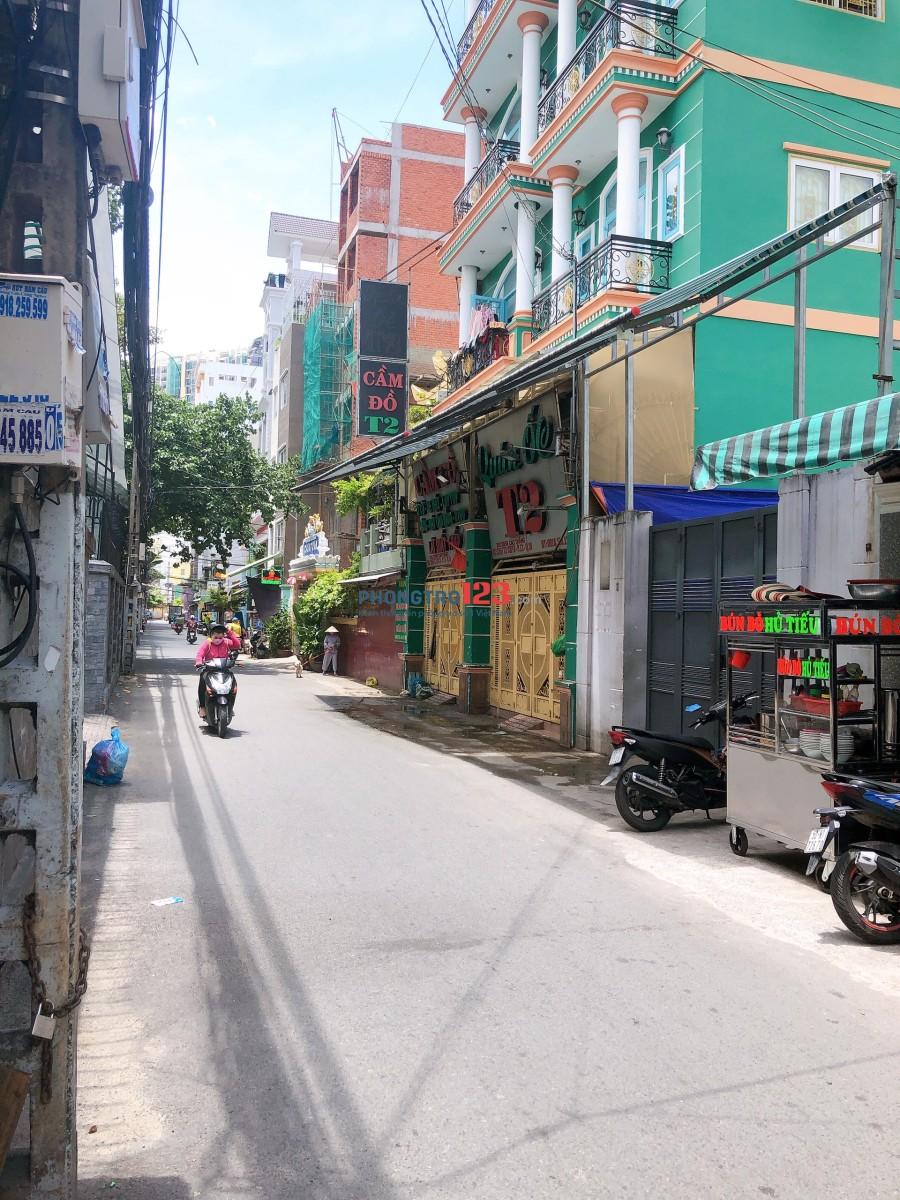 Cho thuê tòa nhà văn phòng nguyên căn đường Cao Thắng nối dài 5 tầng. LH: A.Phong
