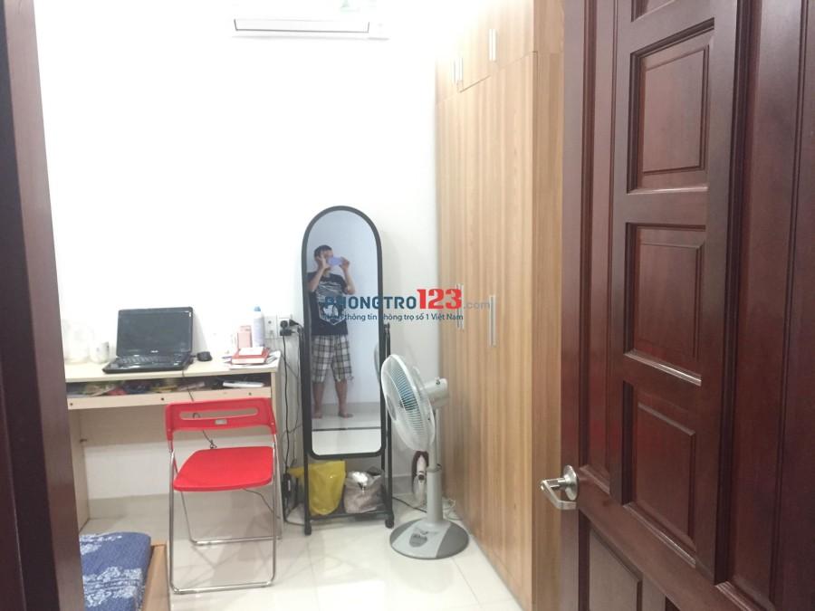 Phòng cho thuê trong hẻm Trần Khắc Chân, Q.1, dt 18m2