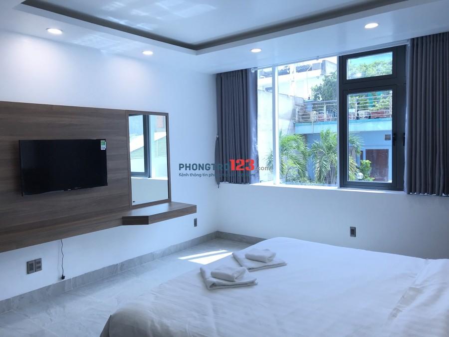 Phòng mới xây full nội thất, ngay CV Lê Thị Riêng, CMT8