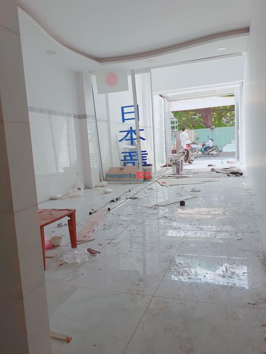 Cho thuê mặt bằng 1 trệt 1 lửng đường Tân Sơn, Quận Gò Vấp