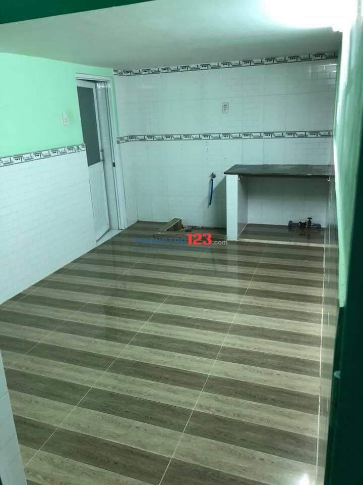 Cho thuê phòng trọ đường Chu Văn An, quận Bình Thạnh