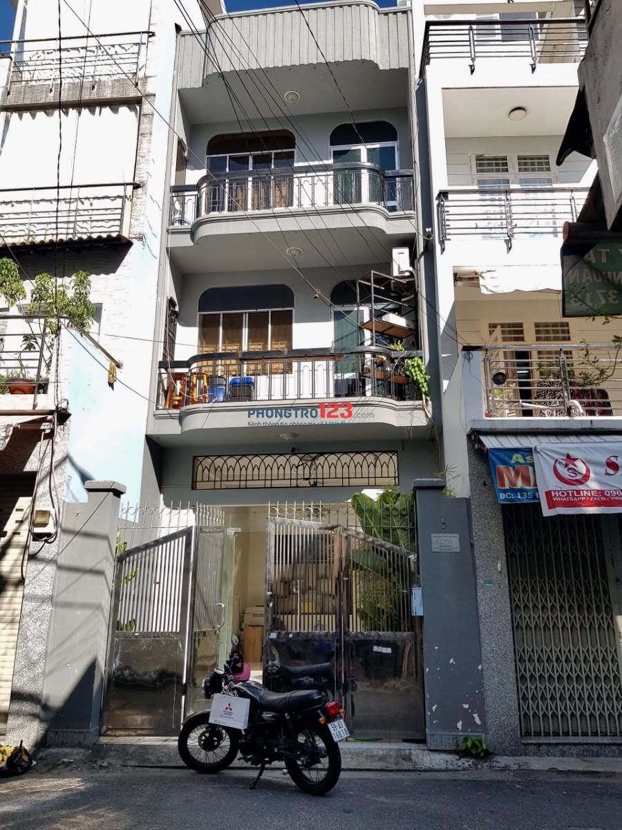 Chính chủ cho thuê tầng 2 làm văn phòng công ty mặt tiền Duy Tân, Q.Phú Nhuận
