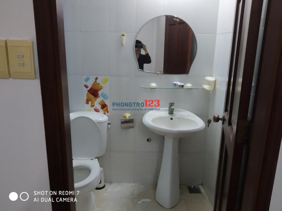 Phòng trọ cho thuê gần công viên gia Định