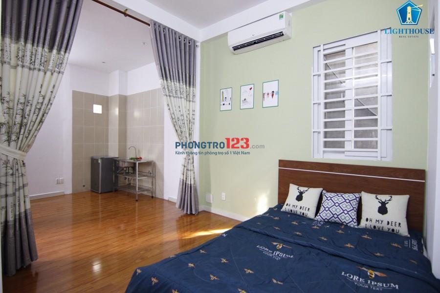 Phòng đẹp 26m2 mới 100% Full nội thất Gần Công Viên Lê Thị Riêng