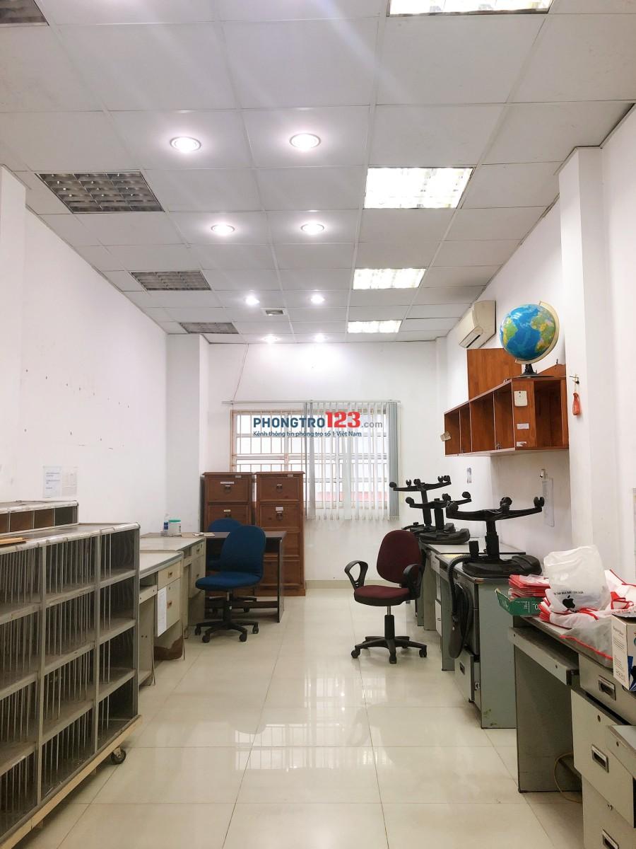 Cho thuê mặt bằng văn phòng tầng 1 tại Phan Văn Trị, Gò Vấp. Giá 7,5tr/tháng Mr Sỹ