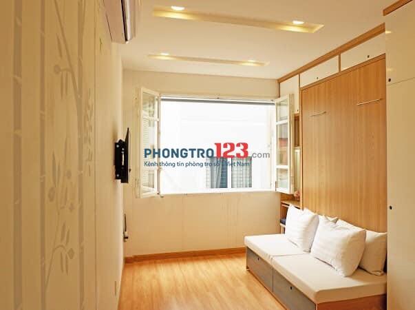 Căn hộ 2 PN 1PK 1PB Full nội thất 70m2 ngay cầu Nguyễn Văn Cừ view sông thoáng mát