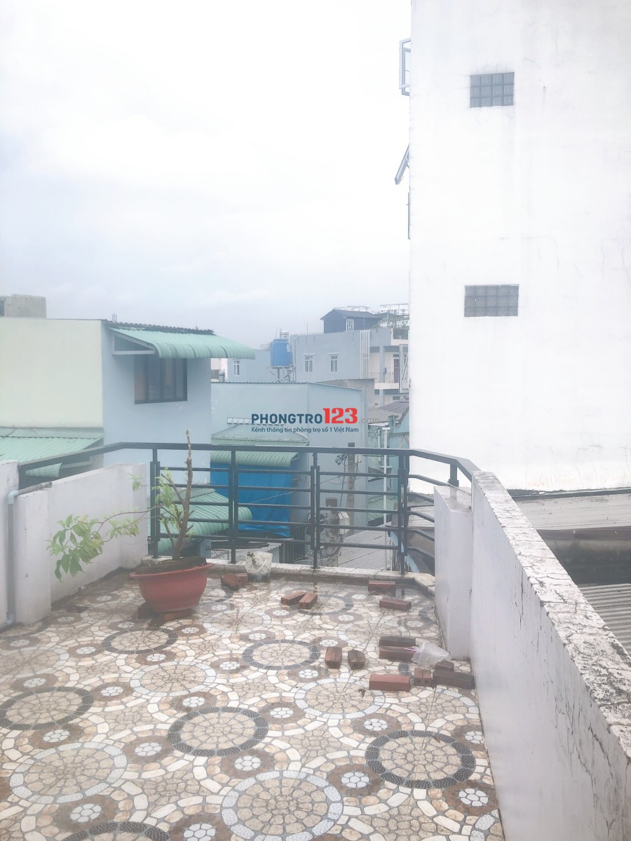 Chính chủ cho thuê nhà nguyên căn Hẻm 290C Dương Bá Trạc, Q.8. Giá 12tr/tháng Mr Thành