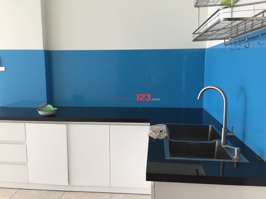 Cho thuê căn hộ chung cư Happy City block A lầu 4 (2PN-1WC 76m2) 5tr5