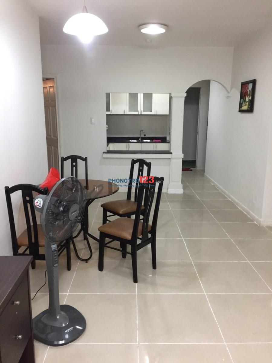 Căn hộ cho thuê, chung cư Sinh lợi, 3 phòng ngủ, căn góc, đầy đủ tiện nghi, thoáng mát, giá rẻ bất ngờ