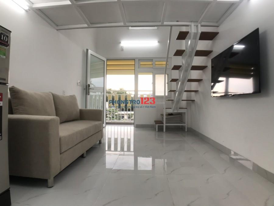 Phòng mới toanh, nội thất đầy đủ, ban công thoáng mát,không chung chủ, gửi xe wifi free giá chỉ 5tr3 ngay 85 NVQ, Q7