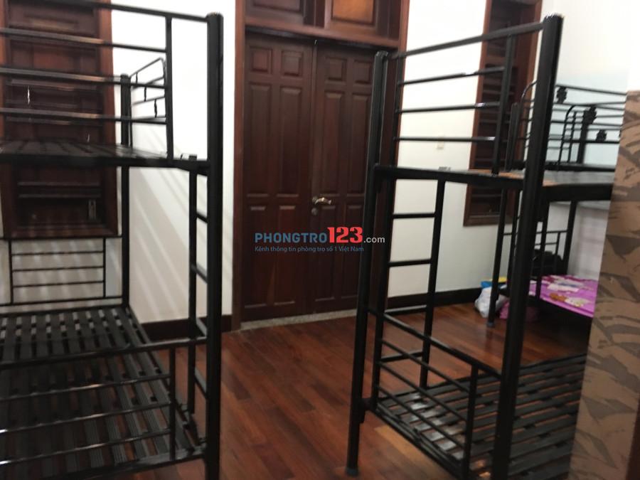 Ở ghép Giường Tầng Sang Chảnh tại Bình Thạnh, chỉ 1.7 tr/tháng (bao tất cả), gần Hutech, HIU, UEF...