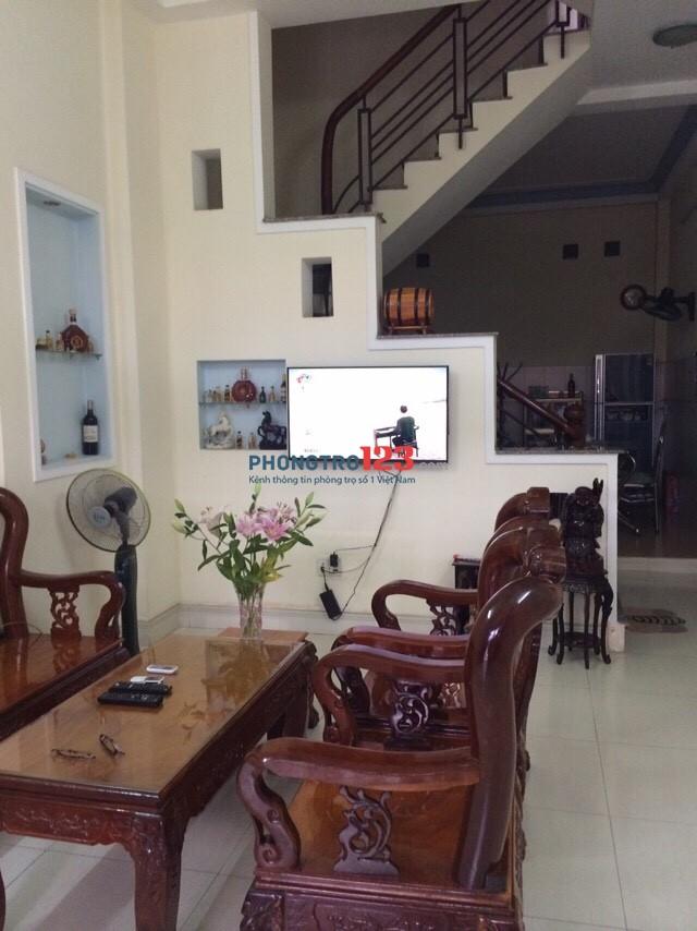 Cần cho thuê nhà nguyên căn hẻm 258 Phạm Văn Bạch - Tân Bình chính chủ