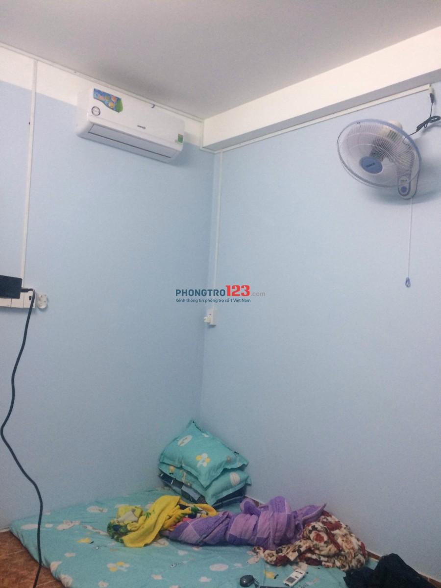 Tìm 2 bạn nữ ở ghép giờ tự do, có máy nước nóng và máy lạnh wifi được nấu ăn