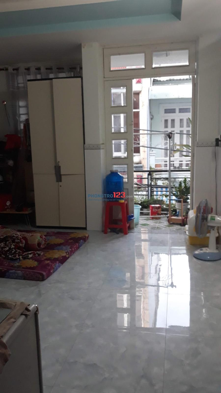 Nhà cho thuê 1T 2L 4P, DT 4X13m2, Trường Chinh, Tân Bình