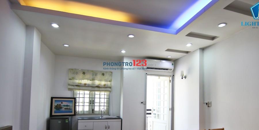 Cho thuê căn hộ mini đường Lê Văn Huân, Tân Bình, giá 6tr3tr full nội thất