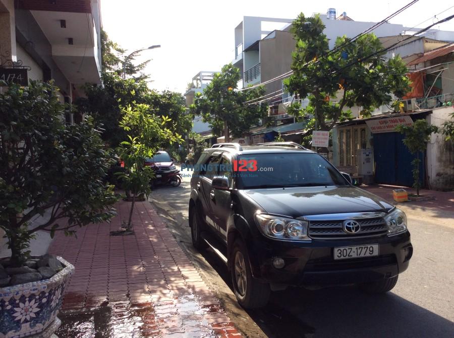 Cho thuê nhà có hầm để xe, đường Đặng Thuỳ Trâm (đường trục 30 cũ) P.13, quận Bình Thạnh, TP.HCM