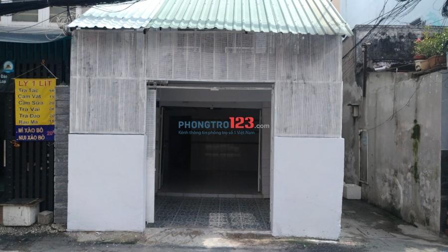 Nhà mặt tiền 2 hẽm xe tải lớn cho thuê nhanh - Đinh Bộ Lĩnh - XVNT, P.25, Q.Bình Thạnh