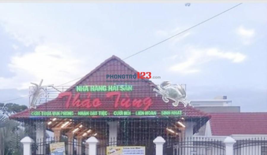 Chính chủ cho thuê nhà hàng sân vườn 500m2 tại Chợ Gò Đen Bến Lức, Long An Ms Tú