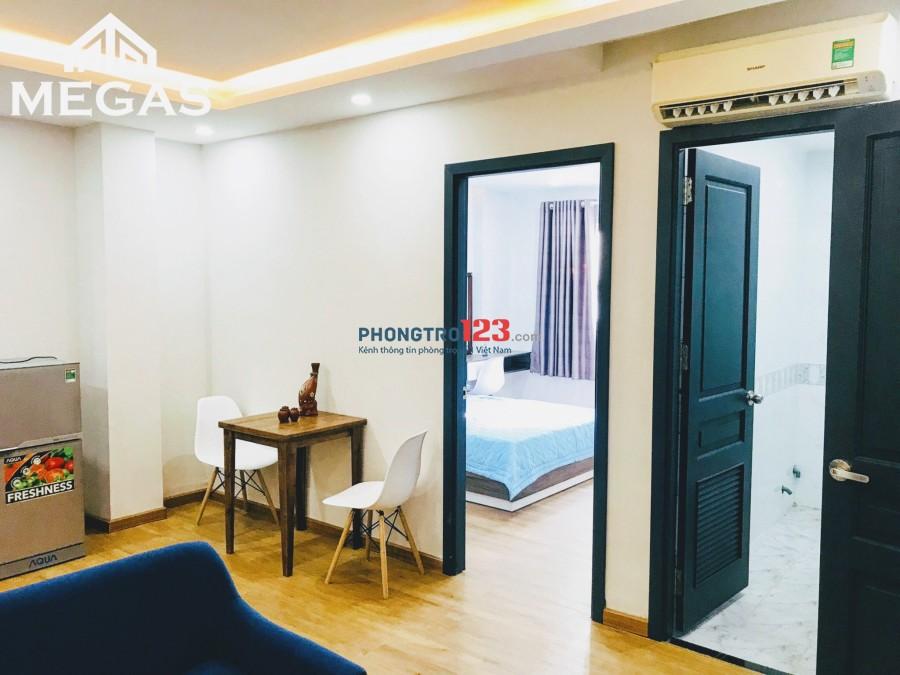 Căn hộ cao cấp 1PN nội thất đầy đủ- mặt tiền đường 9A