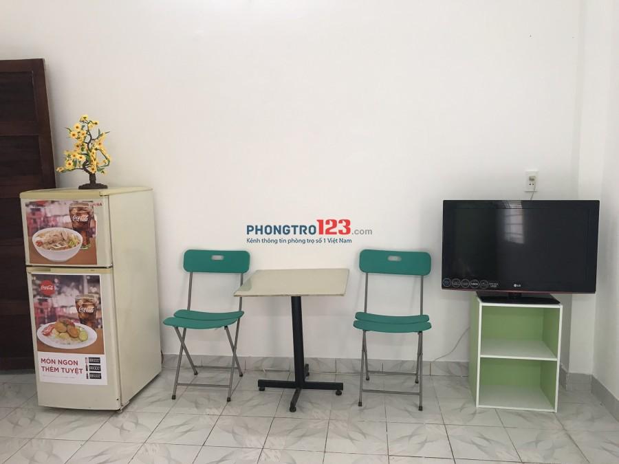 Phòng mới, có nội thất, gần công viên Phú Lâm, giờ giấc tự do