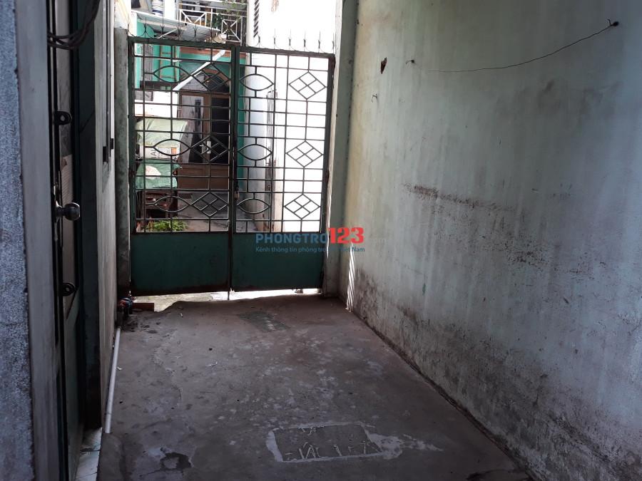 Cho thuê phòng trọ giá rẻ hẻm 63 (cũ) đường Quang Trung, P.10, Gò Vấp
