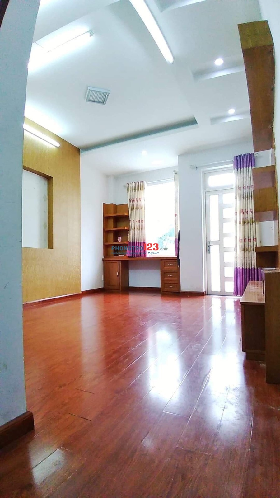 Phòng trọ Phạm Văn Chiêu, Gò Vấp, 30m2, ban công, máy lạnh, giá 3,6tr
