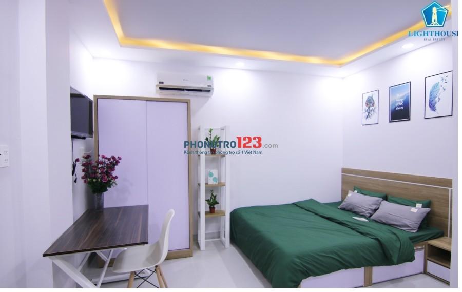 Cho thuê căn hộ 2 phòng ngủ ở Tô Hiến Thành, trung tâm Quận 10