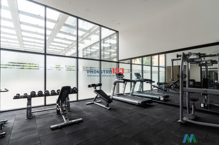 Căn hộ dịch vụ full nội thất cao cấp view sân bay có gym - hồ bơi - nhà hàng - phòng họp - tennis