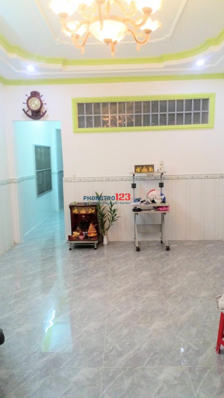 Cho thuê phòng trọ đường song song Phạm Văn Đồng