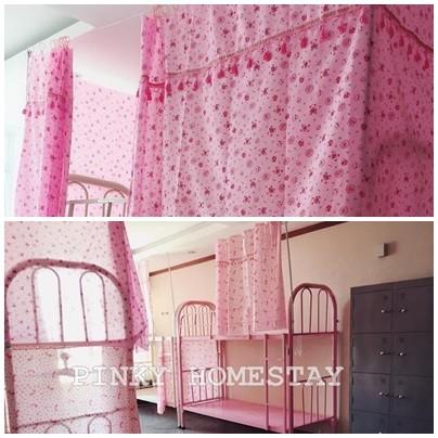 Cần nữ thuê giường tầng mô hình ký túc xá cao cấp đủ tiện nghi có hồ bơi