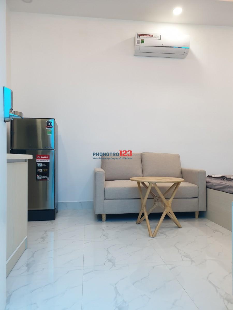 Căn hộ mini gần Lotte mart Q7, full nội thất, sạch sẽ, ban công thoáng mát, giá chỉ 6tr-0938446558