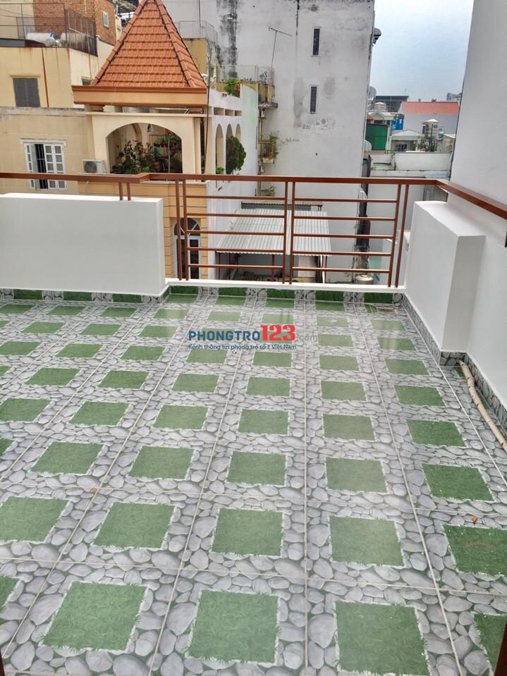 Cho thuê căn hộ Phú Nhuận 45m2 giờ tự do thang máy FREE nước nét cáp
