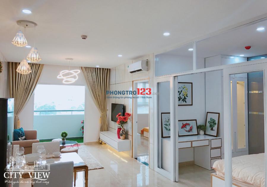 Căn hộ quận 8 ngay AN Dương Vương và Võ Văn Kiệt, căn góc 2PN 68m2, giá thue 8tr