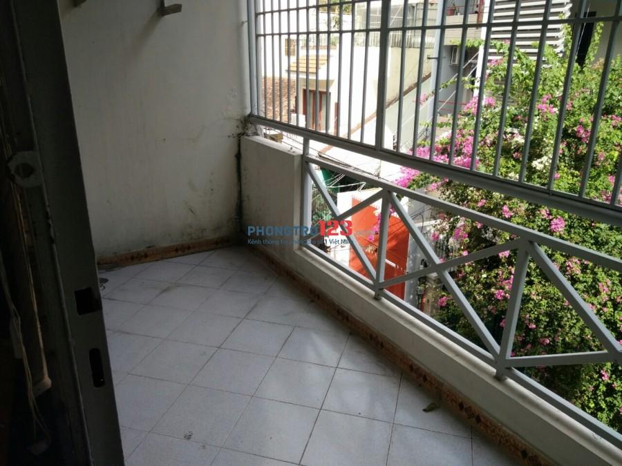 Cho thuê CHDV ngay Mặt tiền 114 Nguyễn Phi Khanh, Tân Định, Quận 1, dt 25m2, Full nội thất