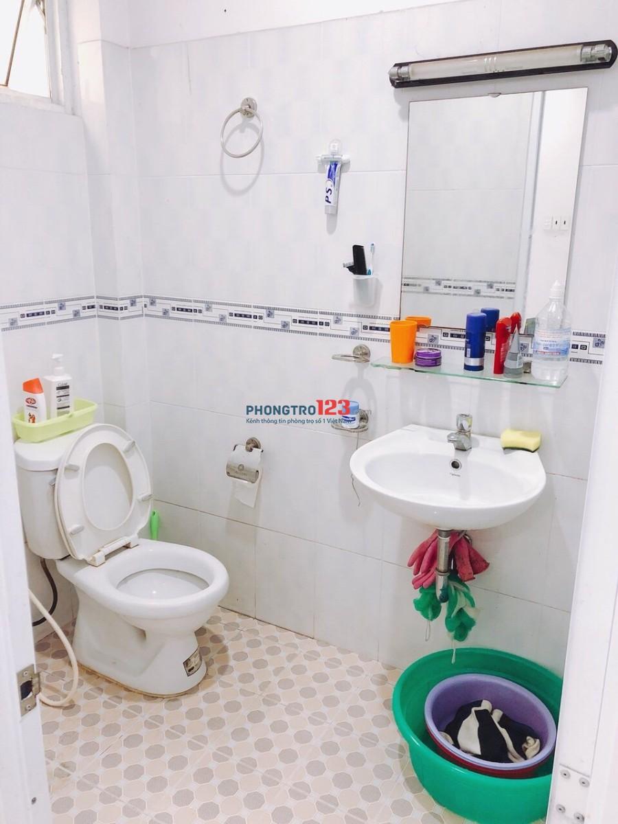Cho thuê phòng có máy lạnh, cửa sổ, diện tích 22m2, giá 2,9tr/tháng đường Tân Sơn