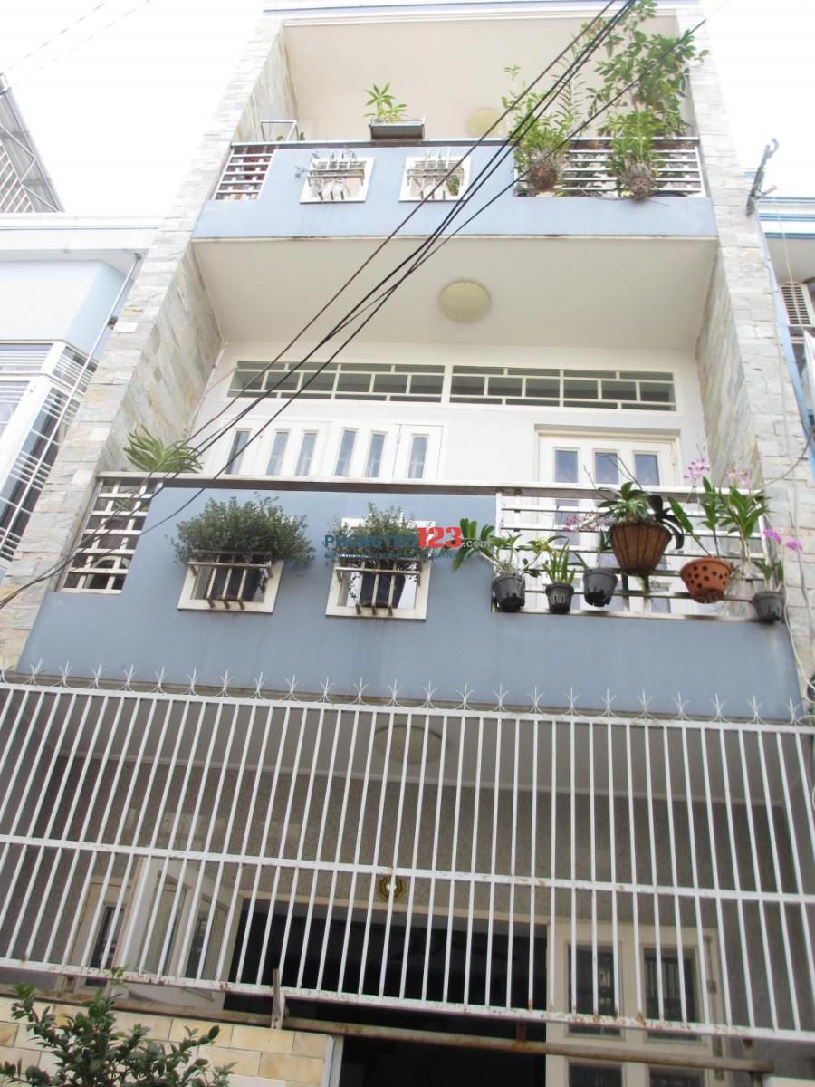 Cho thuê mt nội bộ đường Nguyên Hồng, quận Bình Thạnh 3 lầu giá 20tr