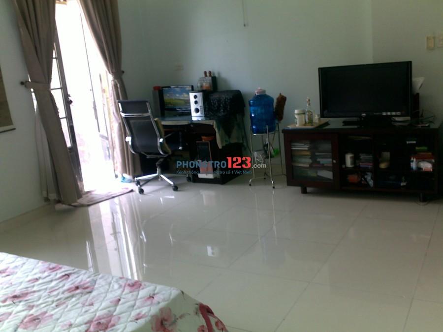 Phòng to 42m2 cao cấp full nội thất cho thuê