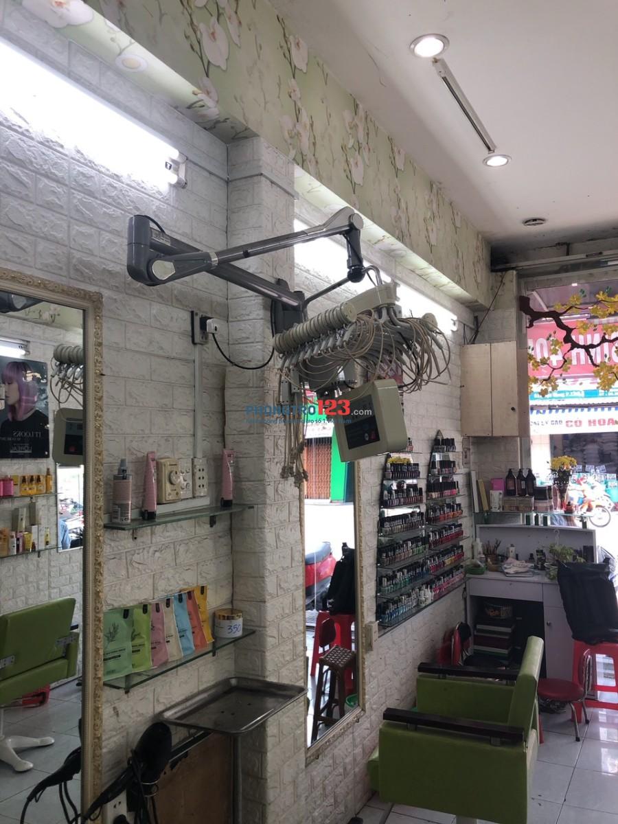 Chính chủ cần sang lại tiệm tóc mặt tiền Đường Hậu Giang, P.11, Q.6. LH Ms Thủy