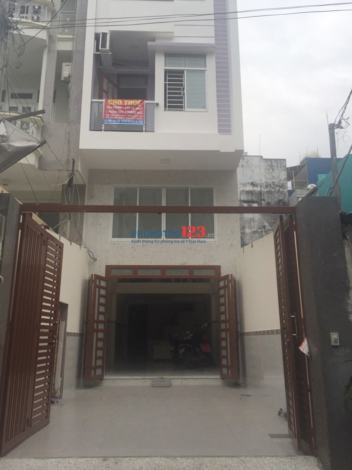 Cho thuê mặt bằng 81/6 Hồ Văn Huê, Phú Nhuận, 1T1L 120M2 4x15 lối đi riêng, Hẻm xe tải