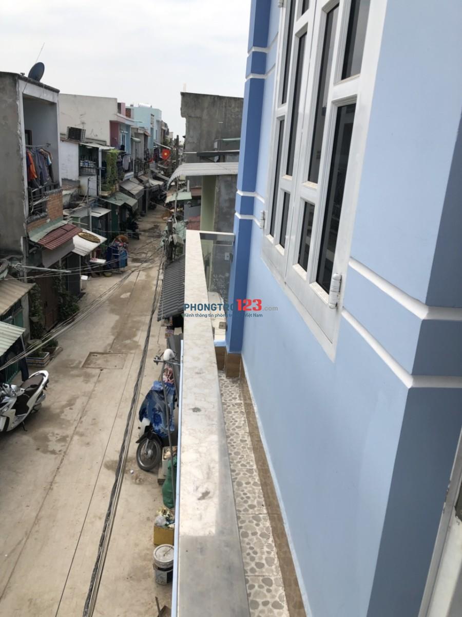 Nhà mới đẹp, cuối đường liên khu 5-6, hẻm ba gác