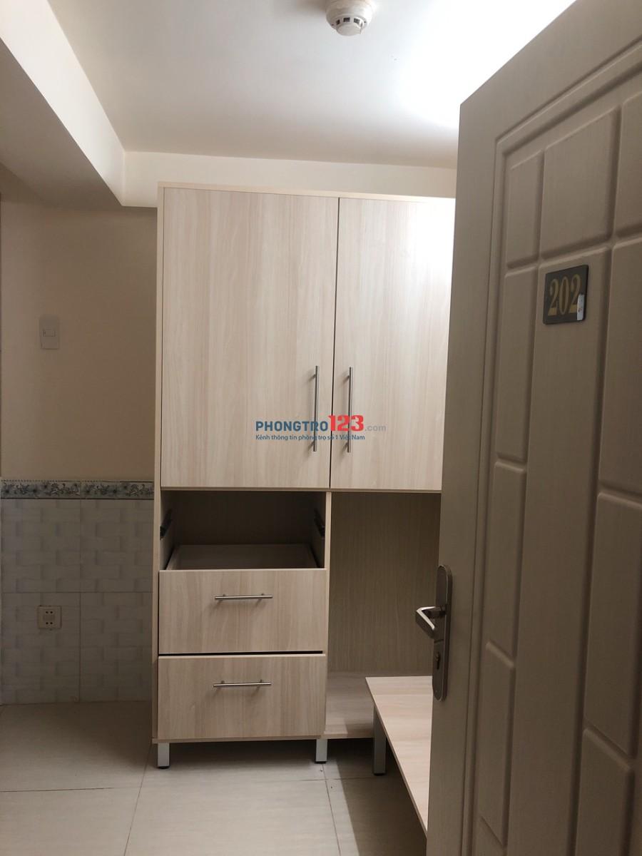 Cho thuê căn hộ mini Full nội thất Tại Lê Quang Định, Q.Gò Vấp, giá từ 4,4tr/tháng Mr Tuân
