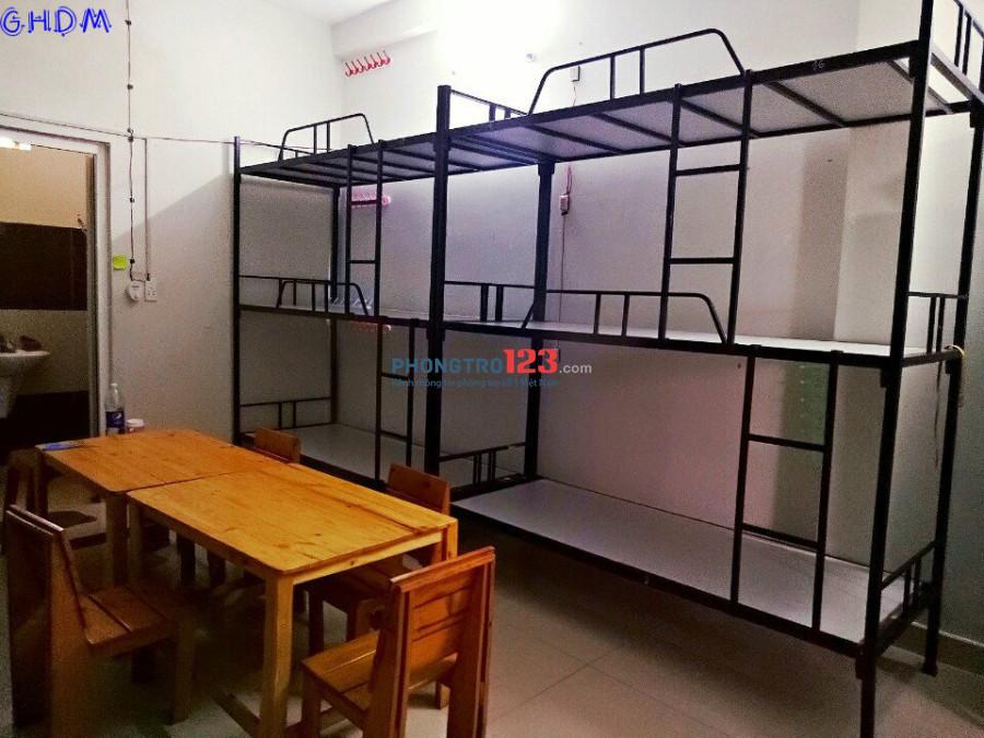 Ký túc xá máy lạnh quận Bình Thạnh_giá sinh viên