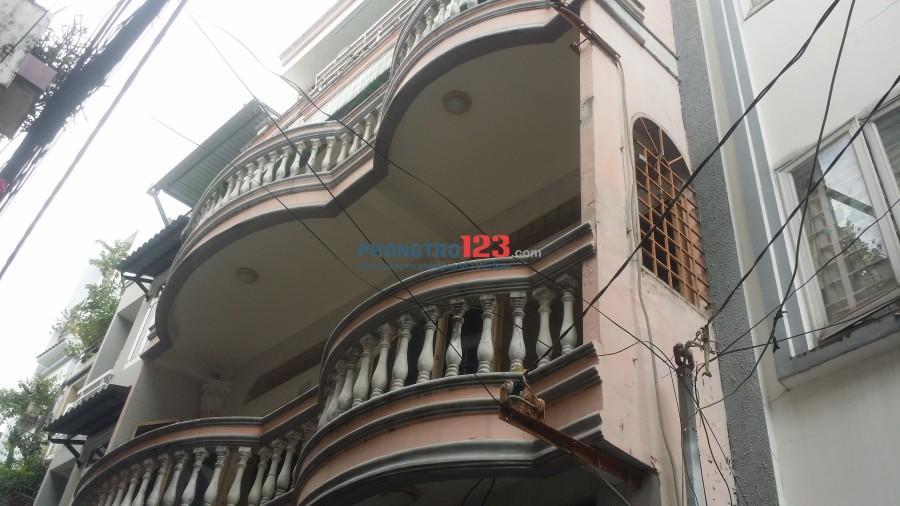 Cho thuê nhà 1 trệt 2 lầu trung tâm Phú Nhuận 8x12