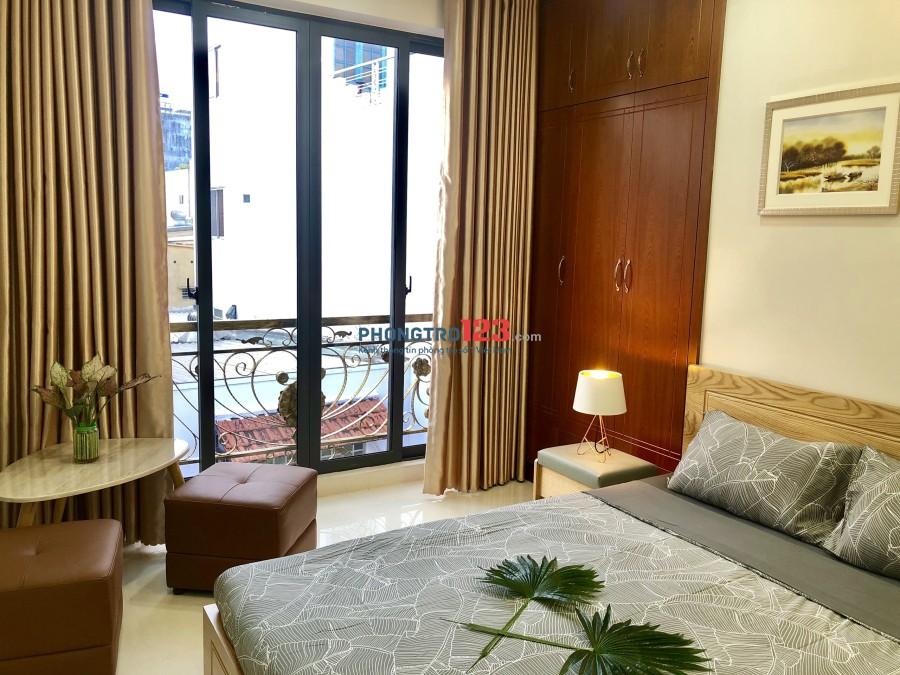 Phòng đầy đủ tiện nghi tại quận Phú Nhuận
