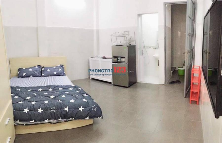 Cho thuê phòng thoáng mát - không gian xanh - quận Bình Thạnh