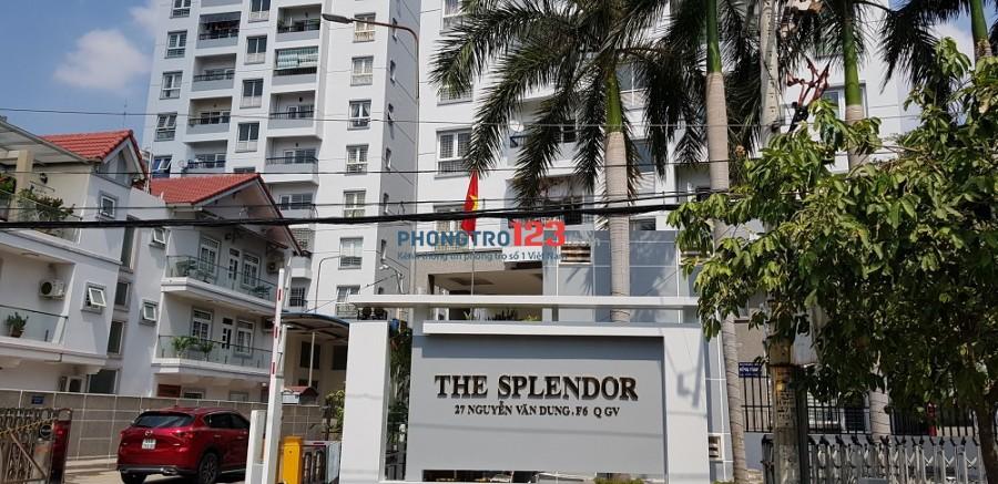 Cho thuê nhà nguyên căn tại The Splendor tiện ích nội khu căn hộ chỉ được ở mức căn bản như có bảo vệ 24/24
