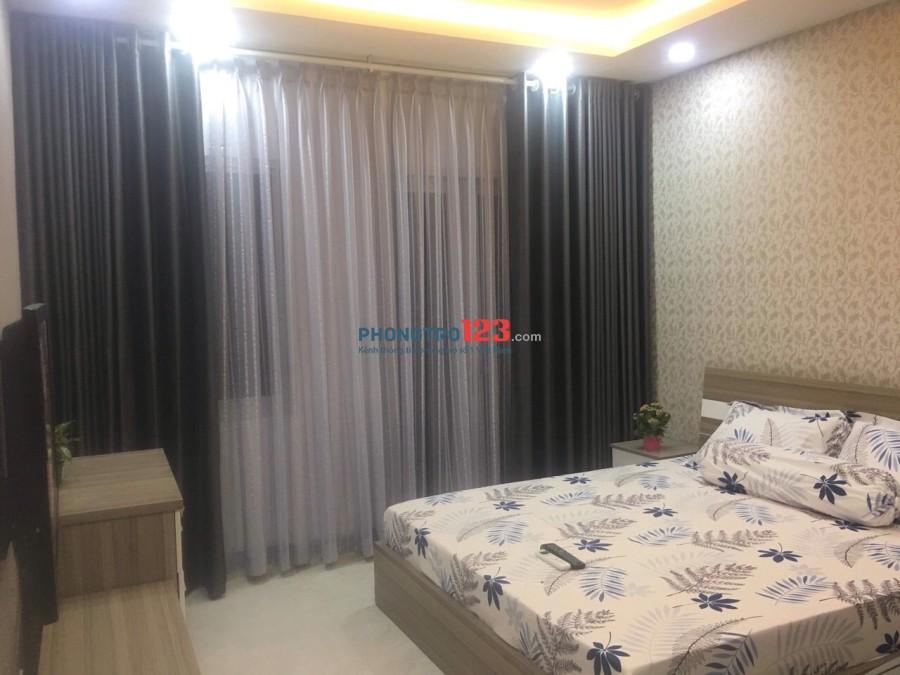 Cho thuê lại căn hộ dịch vụ Full nội thất chỉ việc vào ở tại Hai Bà Trưng, Q.3 Ms Trâm Anh