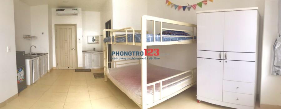 Phòng Trọ Nguyễn Văn Đậu, full nội thất, 27m2, thuận tiện đi các quận