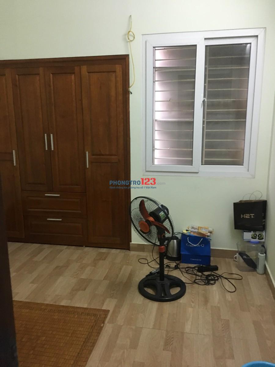 Phòng trọ cho nam thuê đang đi làm hoặc sinh viên